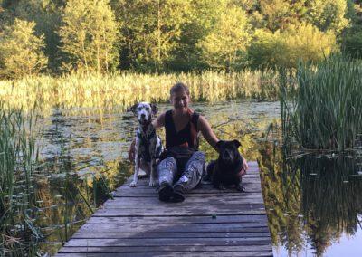 Ich & meine 2 am See Hundepension Hundephysio Tierheilpraxis Wilsdruff