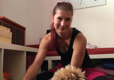 Massage Yorkshire Terrier Hundephysio Tierheilpraxis Wilsdruff