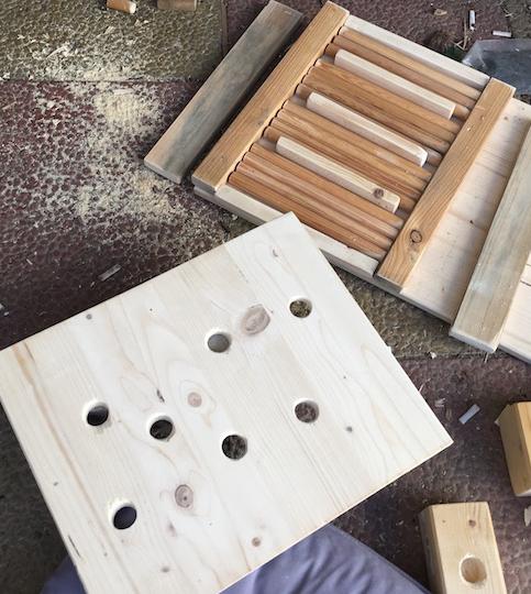 Bauanleitung Intelligenzspiel Schnüffelspiel für Hunde selber bauen 4